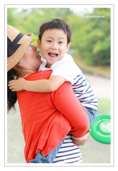 鞍ヶ池公園(愛知県豊田市) 家族写真 子供写真 ロケーション撮影 屋外 出張撮影 自然な 友達 データ渡し