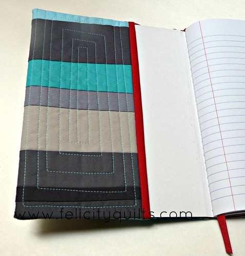 Notebook inside