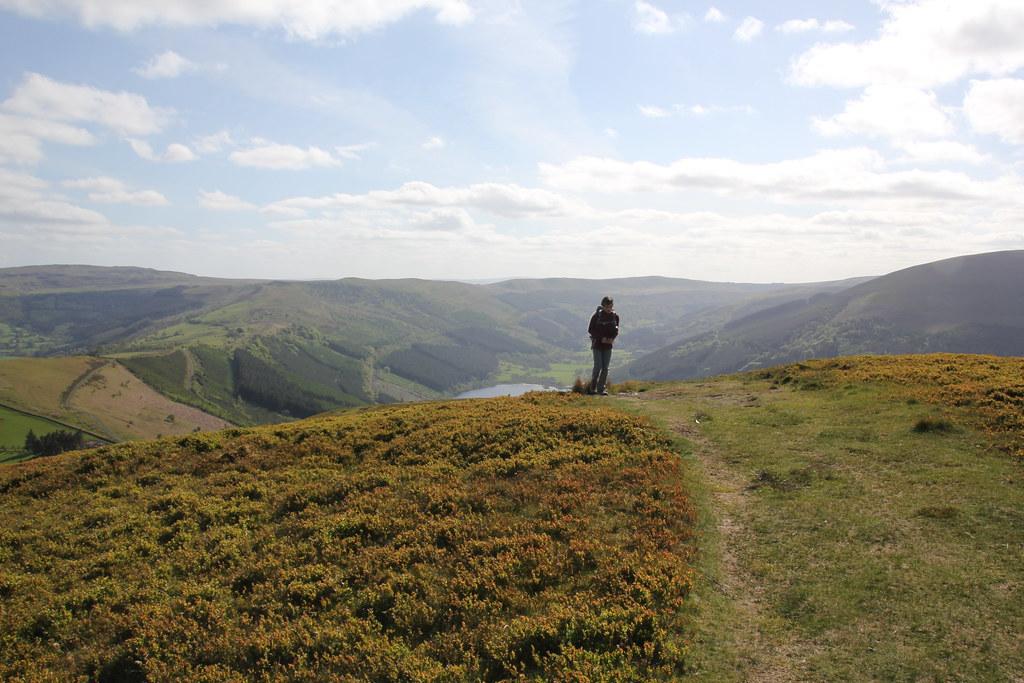 Talybont reservoir, Craig y Fan, Gwalciau 'r Cwm, Cwar y Gigfran, Caerfannel, Twyn Du, Carn Pica, Craig Fan Las, Craif y Fan Du, Brecon Beacons, Nant Bwrefwr, Pant y Creigiau, Mynydd Llangynidr, Bryiau Gleision, Tor y Foel