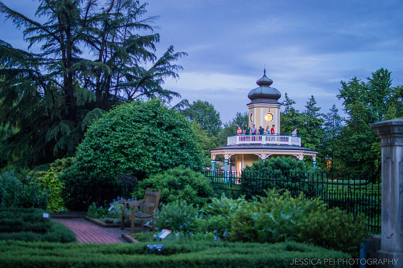 Missouri Botanical Garden at Night
