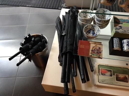 Japanese sword umbrella