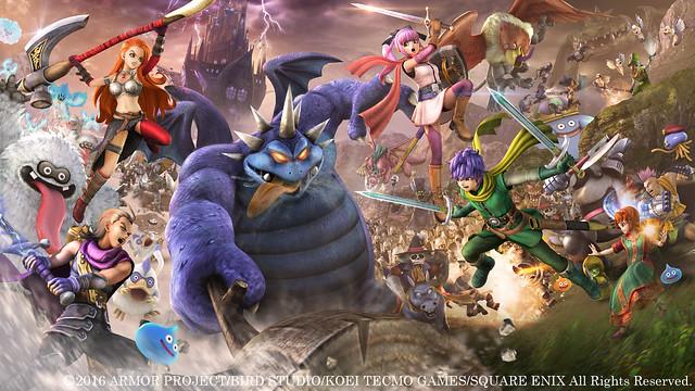 『勇者鬥惡龍 英雄集結Ⅱ』繁體中文版將於8月4日發售!登場人物與背景舞台搶先看!