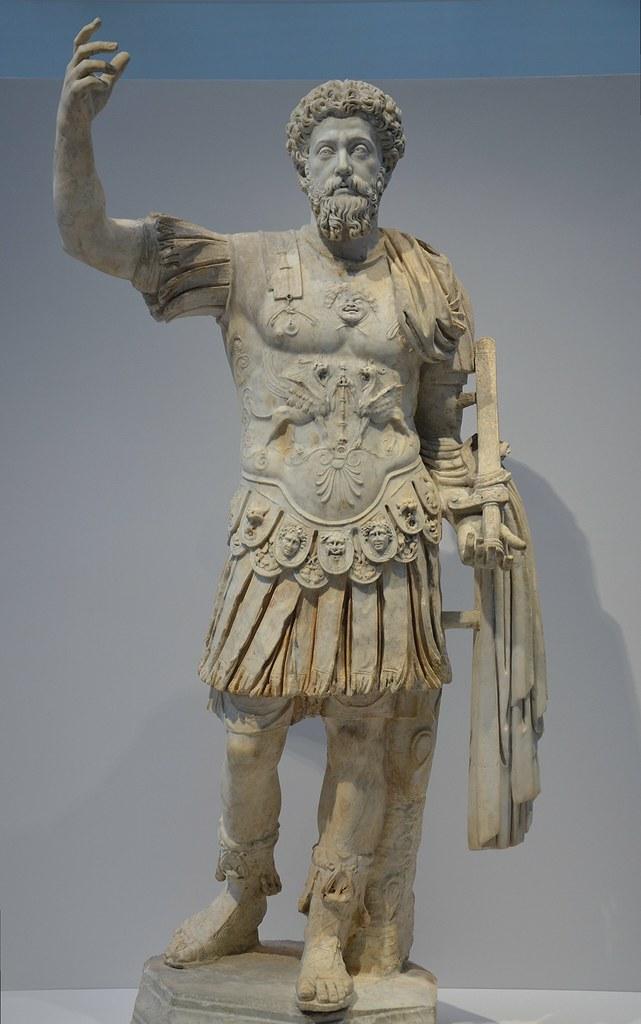 Cuirassed statue of Ma...