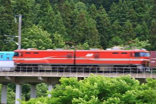 またまた、貨物列車に被ったH5系