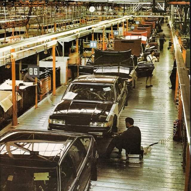 Rover Sd1 Production Line Andrew Banks Flickr