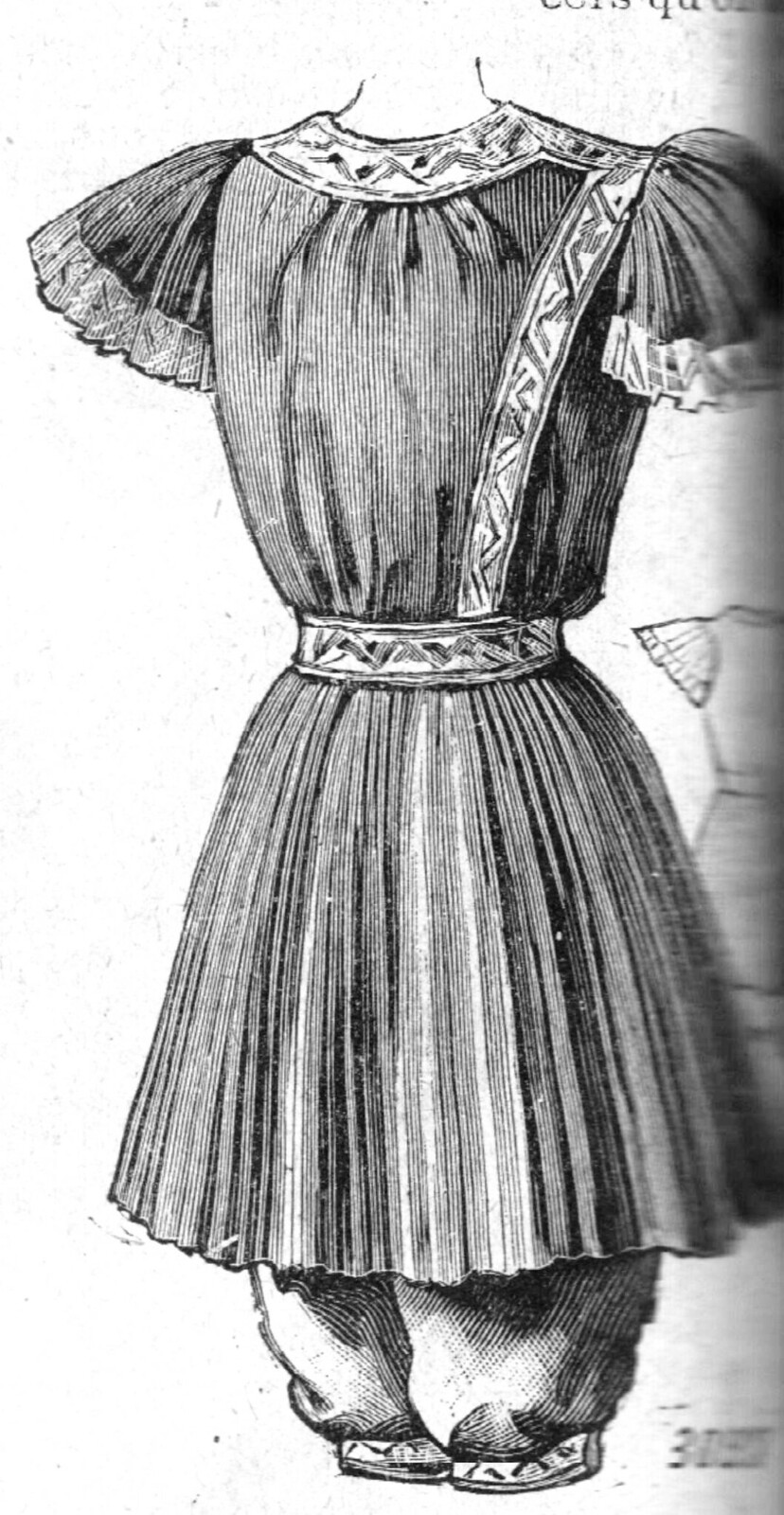 Costume de bain 1894