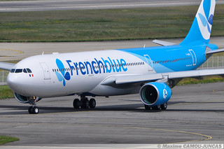 F-HPUJ Airbus A330 Frenchblue
