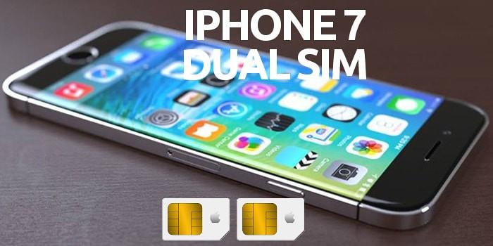 el iphone 7 podr a ser dual sim por primera vez en apple. Black Bedroom Furniture Sets. Home Design Ideas