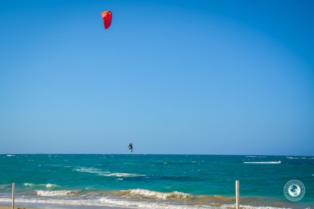 Kitesurfing Near Sosua Dominican Republic