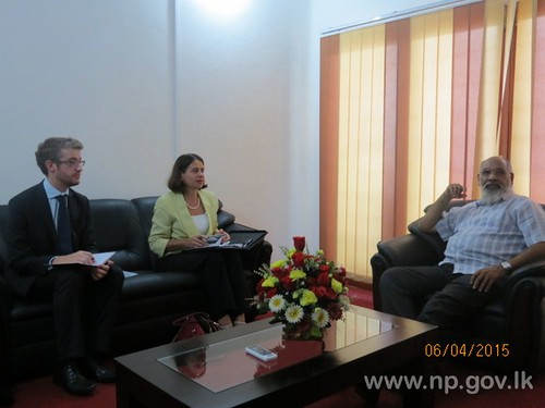 Australian High Commissioner meets Chief Minister – 06 April 2015