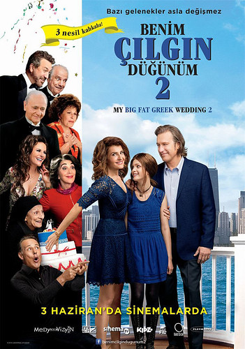Benim Çılgın Düğünüm 2 - My Big Fat Greek Wedding 2 (2016)