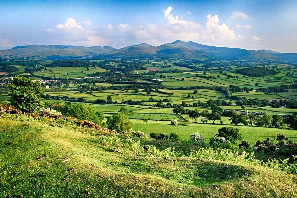 Brecons landscape