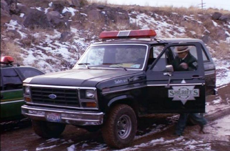 1982 Ford Bronco Police Car - Vanishing Point