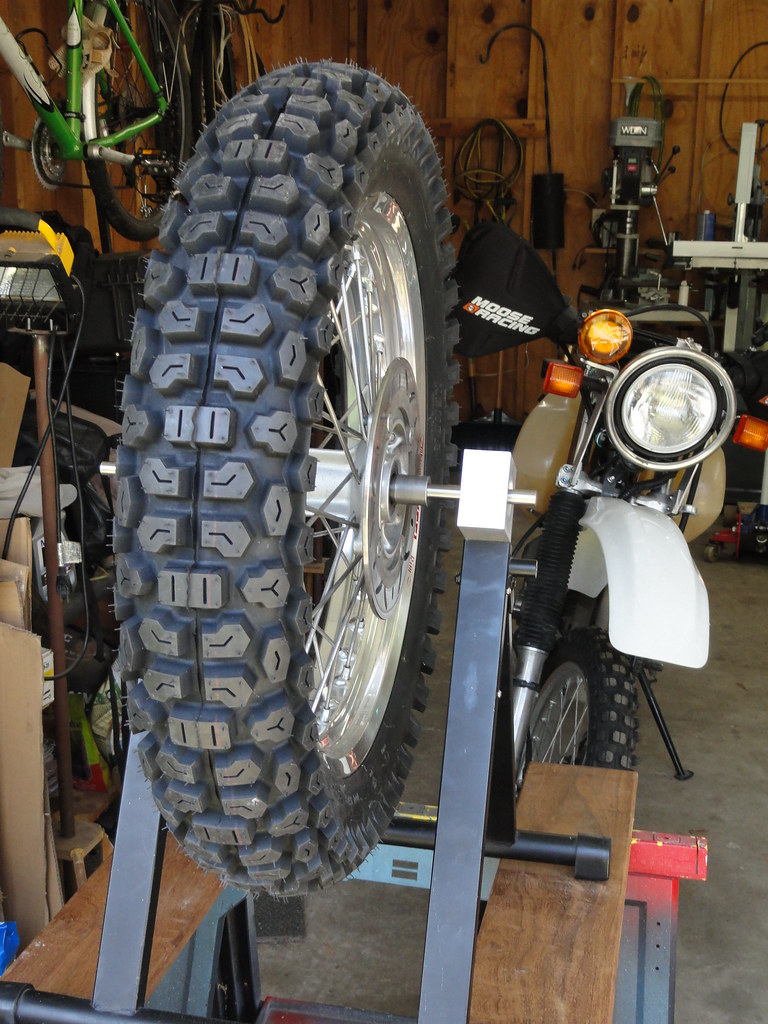 "XR650R Shinko 705 18"" rear tire options? 
