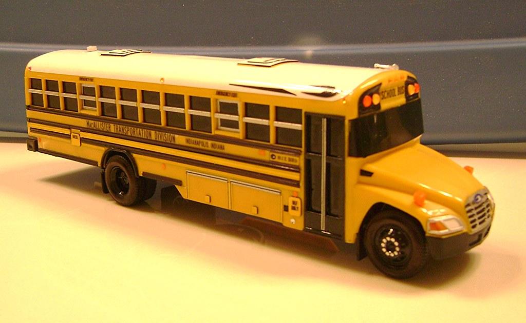 Blue Bird Bus >> MACALLISTER TRANSPORTATION DIVISION STOCK SCHOOL BUS - IND… | Flickr