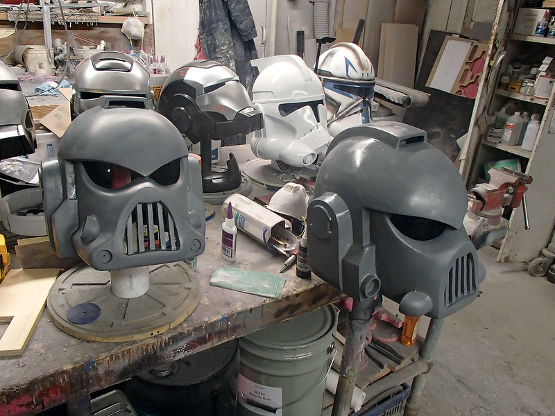 New SM Helmets in Primer