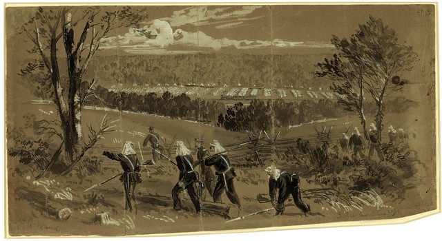 Schenks Ohio Regiments near Vienna, Virginia, June 17, 1861