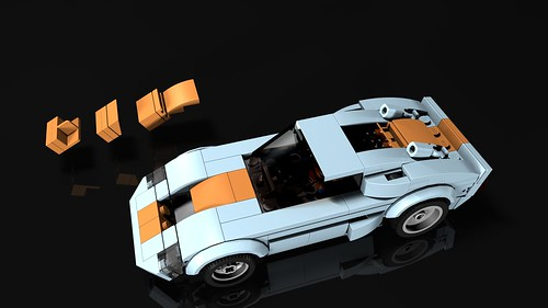 TLG SC '66 GT40 Racecar custom SC mod