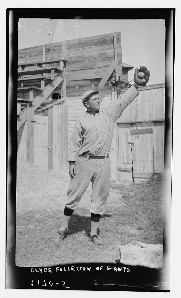 [Clyde Fullerton, Giants' third base prospect, New York NL (baseball)] (LOC)