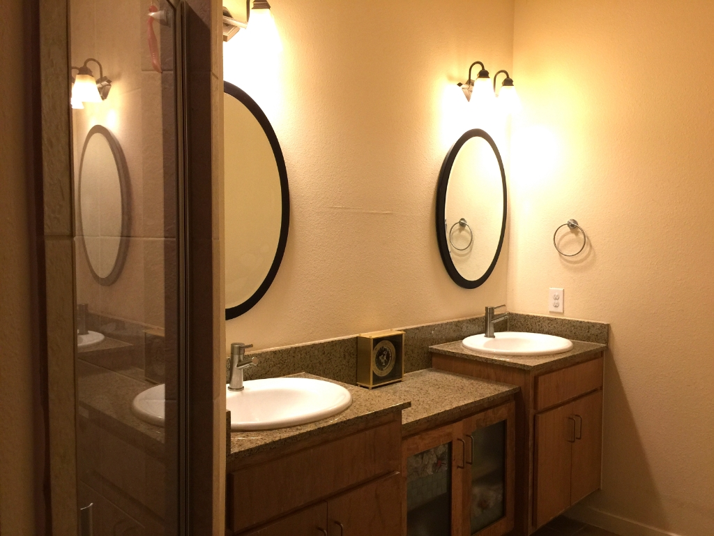 Masterbath sink with dual vanity for Australian natural soap