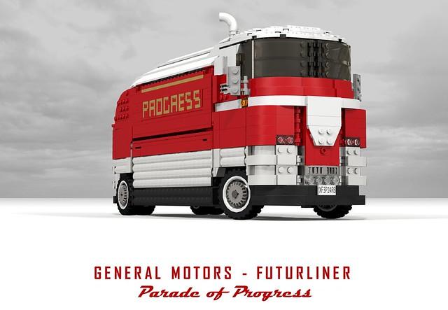 General motors futurliner parade of progress harley for General motors washington dc