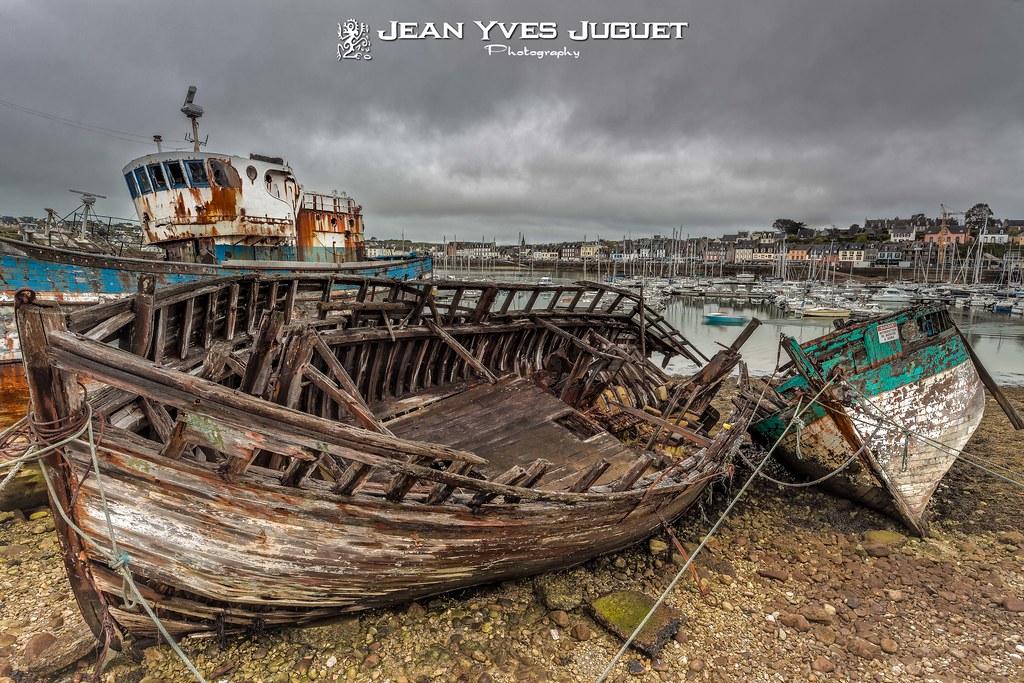 Le cimeti re de bateaux camaret sur mer presqu 39 le de for Photos de photos