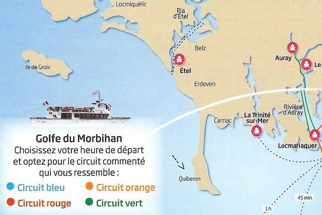 Quiberon, französische Hafenstadt, Seebad, Ferienort im Département Morbihan (Bretagne). Quiberon liegt am Ende einer Landenge, die die einstige Insel mit dem Festland verbindet. Vom Hafen aus bestehen Fährverbindungen zur Belle-Île und zu anderen Inseln. Schöne Kirche Église Notre-Dame-de-Locmaria de Quiberon.