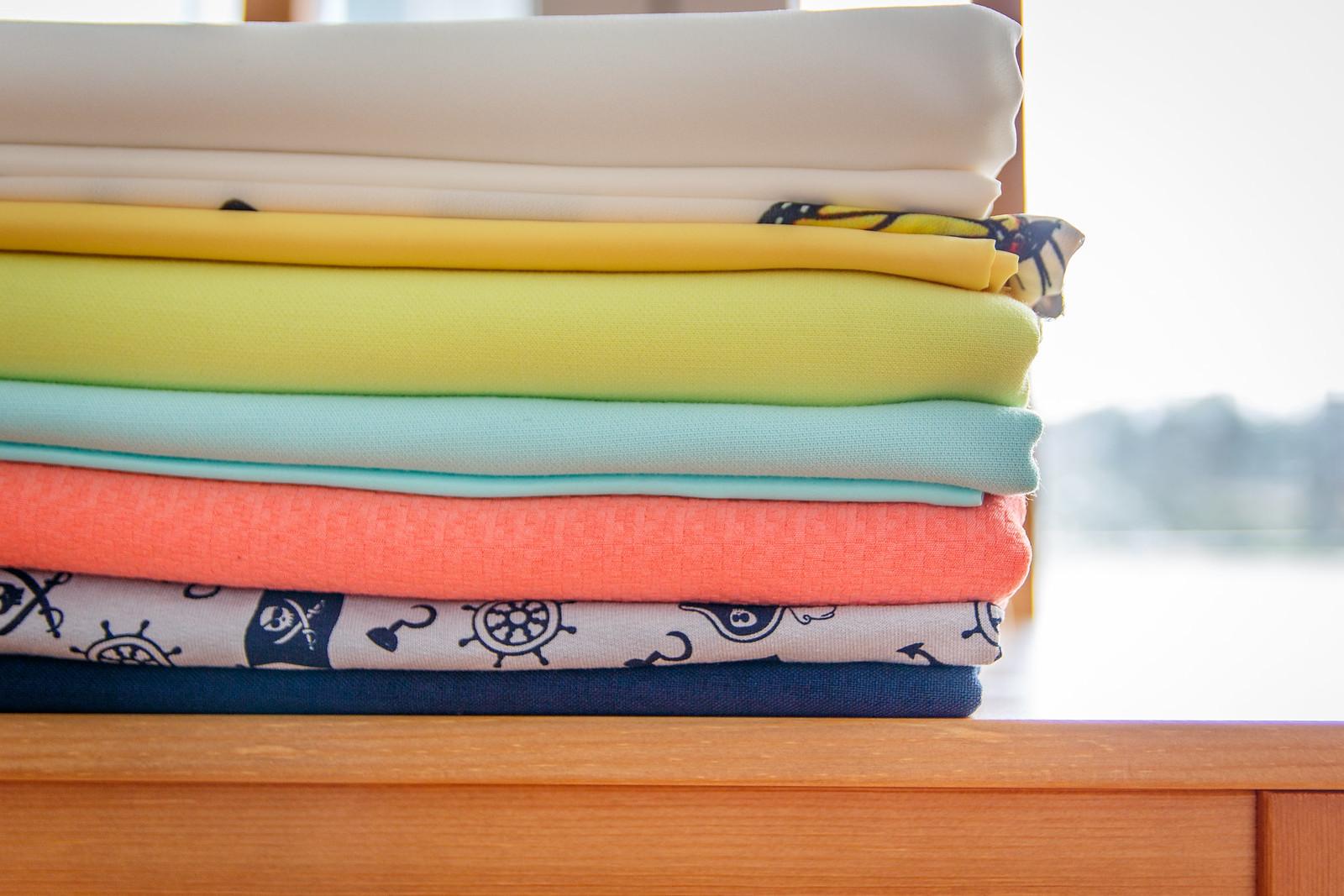 dekatyzacja tkaniny gotowe do szycia
