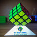 My Home Made Rubik's Cube Stand - Single - DSC02026