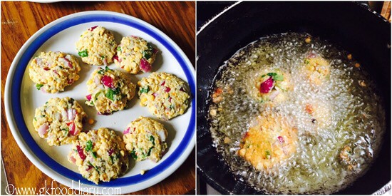Masala Vada Recipe for Toddlers and Kids - step 5