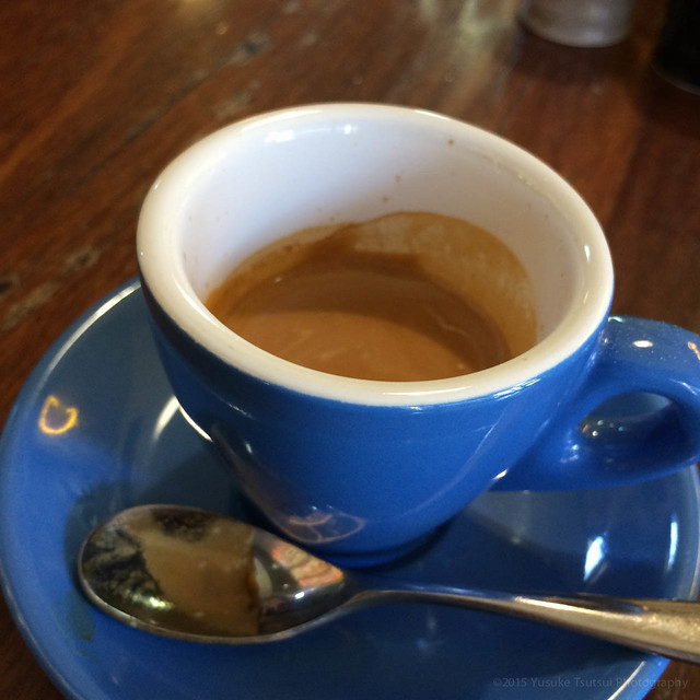 the real coffee again, Joe's Garage, Fitzroy, Melbourne