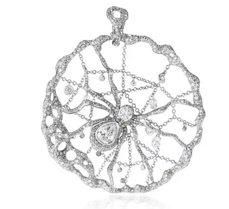 Cindy Chao The Art Jewel White Label forest series spider pendant