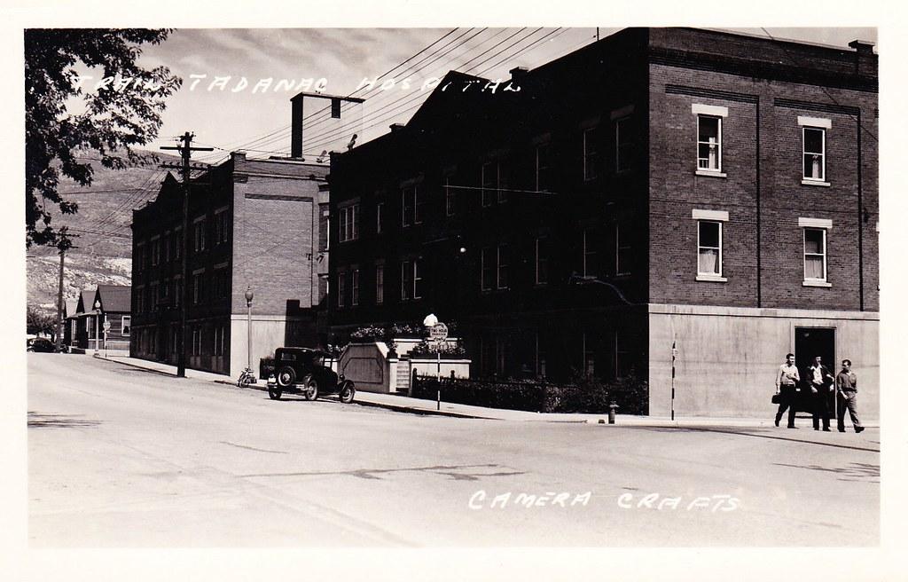 Where To Post Jobs >> Postcard: Trail-Tadanac Hospital, Trail, BC, c.1940 | Flickr