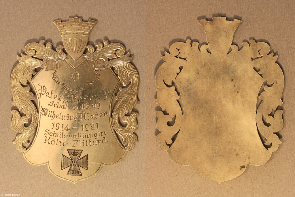 Koenigsschild Flittard von niesen peter jr aus dem Jahr 1914