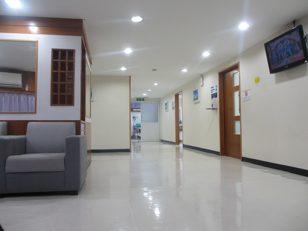 Chiang Mai Ram Hospital Waiting Room Sandymillin