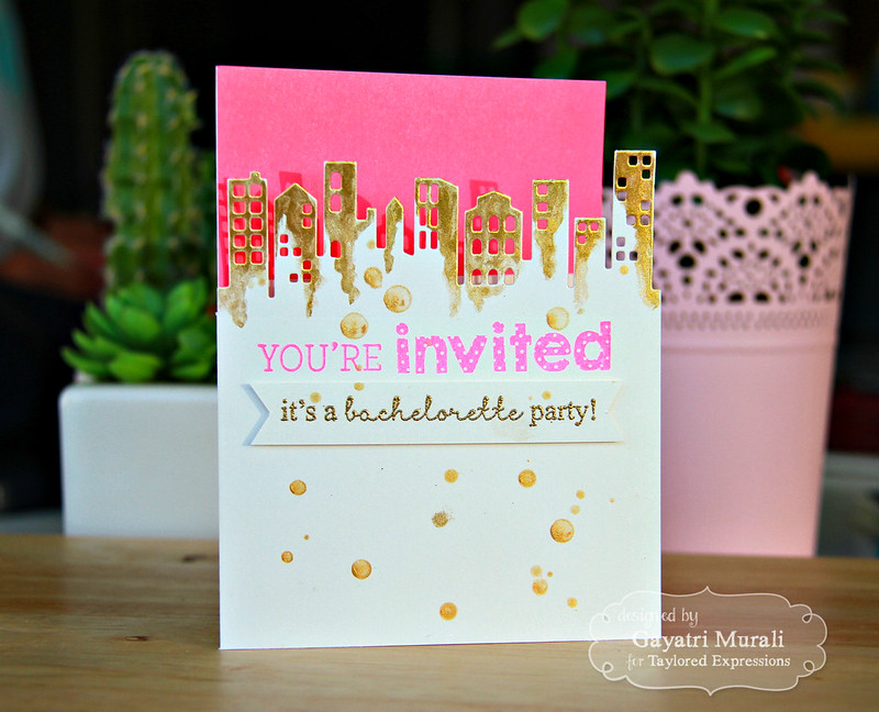 Bachelorette party card 1