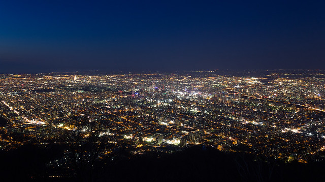 Night view of Sapporo / 札幌夜景