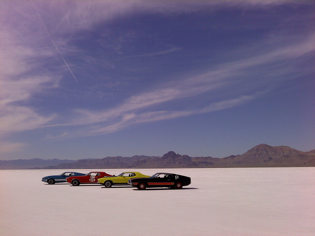 Bonneville Salt Flats Managed By The Blm As An Area Of
