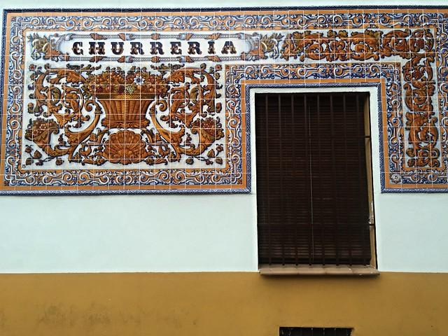 Talavera de la Reina en azulejos