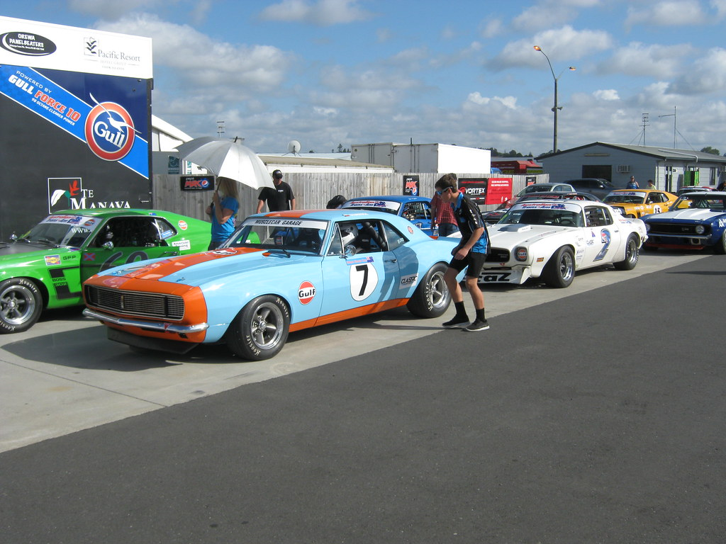 Historic Muscle Cars New Zealand Festival Of Motor R Flickr