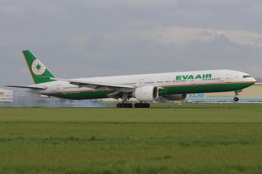 Eva Air Schiphol Schiphol Eva Air Boeing