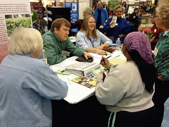 MGVs work alongside Extension educators to answer questions at the annual Garden Expo.