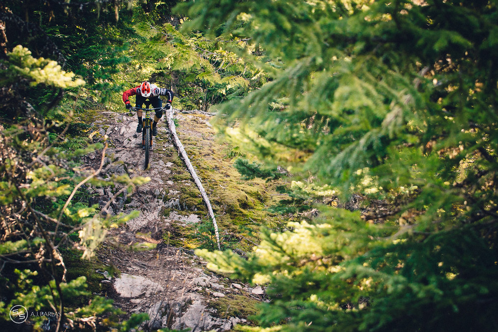 Jesse Melamed High Society trail, Whistler