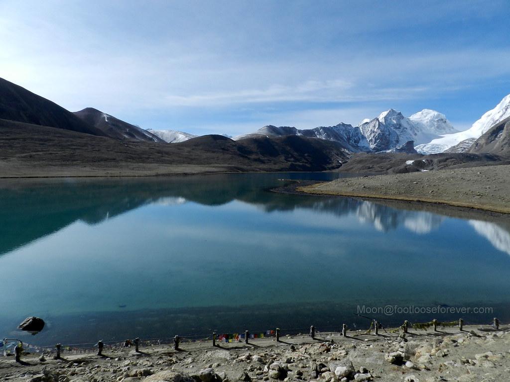 lake gurudongmar, north sikkim