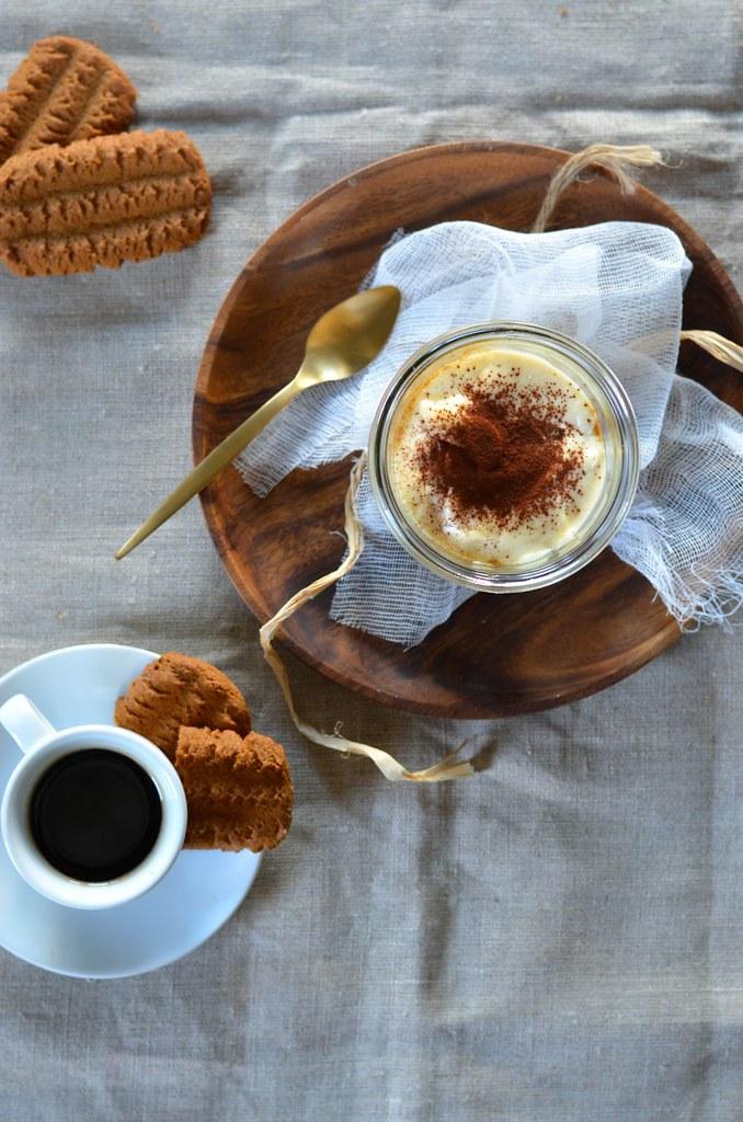 Tiramisu au spéculoos et café