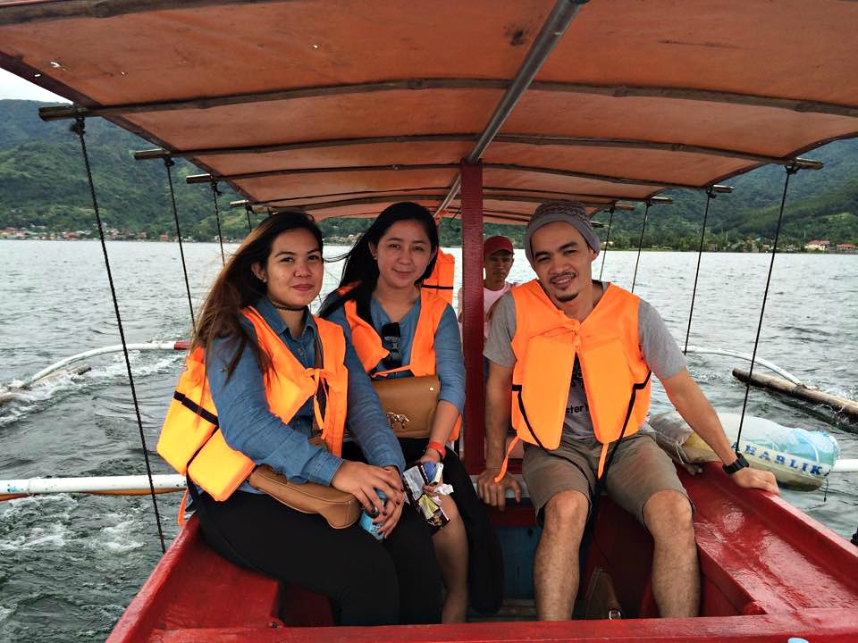 Boat Ride to Taal Volcano - Copyright Travelosio
