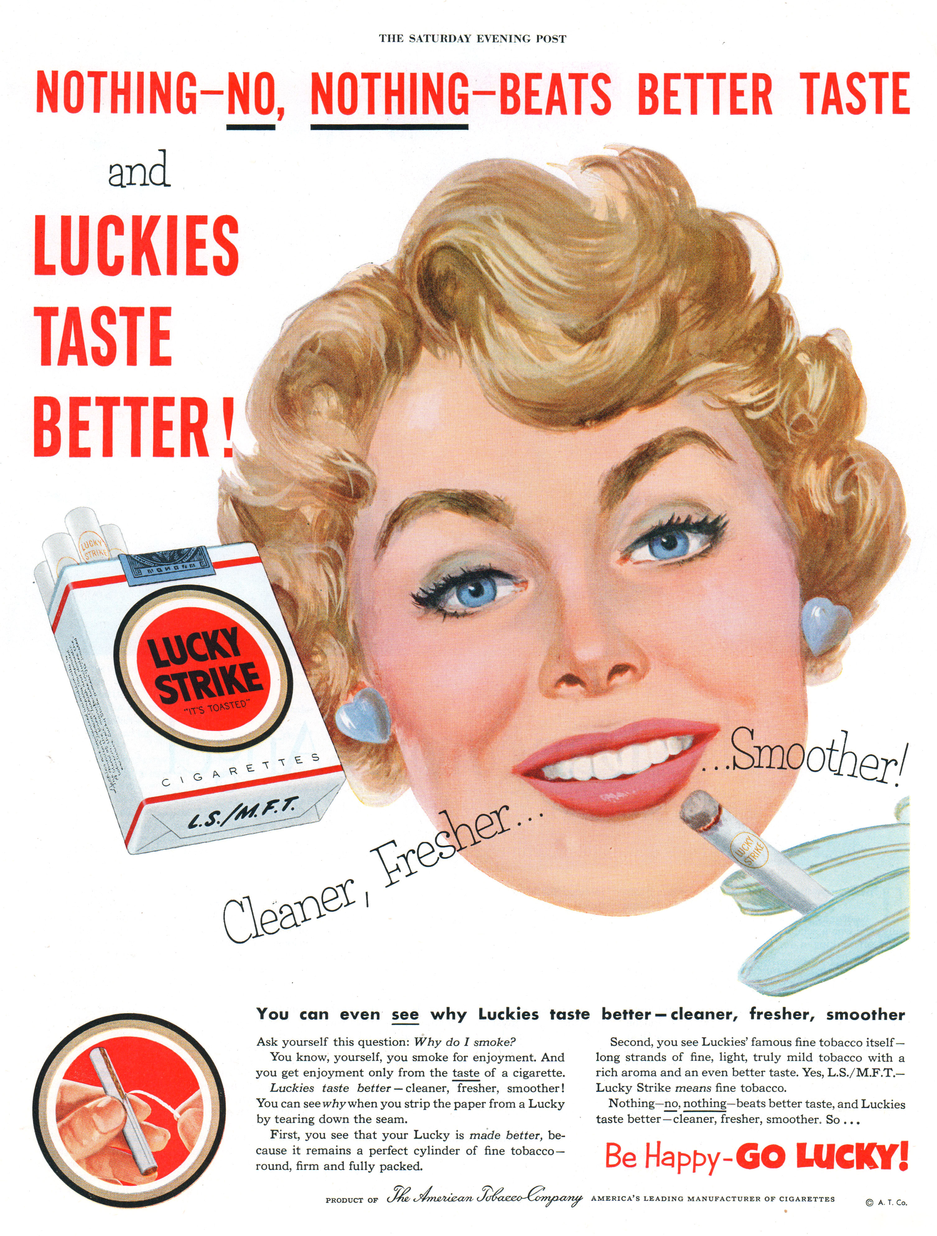 Lucky Strike - published in The Saturday Evening Post - February 14, 1953