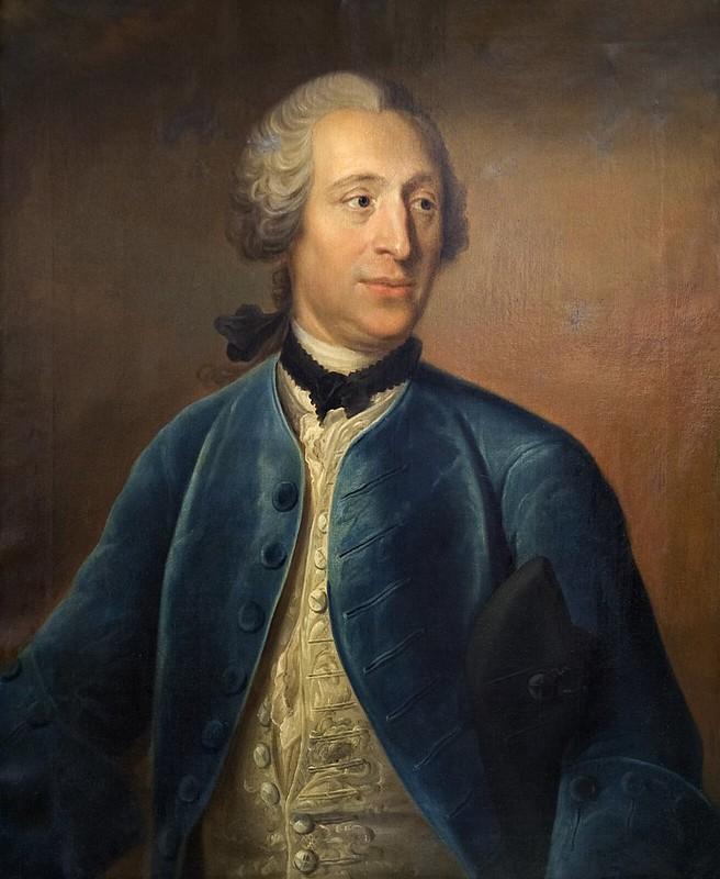 Johan Henrik Scheffel - Olof Von Dalin (1750)