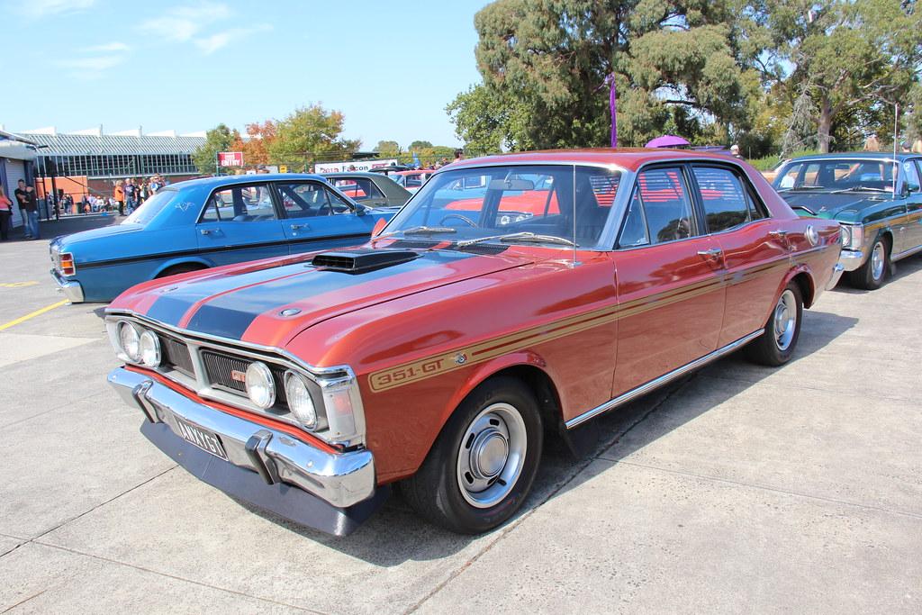 1970 Ford Xy Falcon Gt Sedan Bronze Wine The Xy Falcon