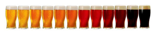 beer-color-line-of-glasses